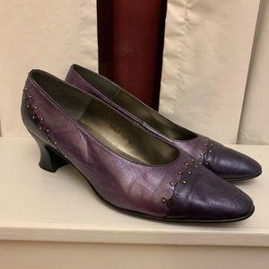 Vintage Purple Heels